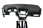 перетяжка приборной панели kia